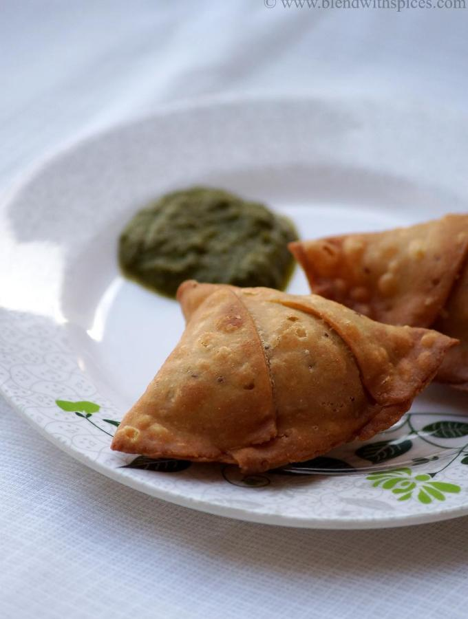 Soya Granules Peas Samosa Recipe ( Baked Version Included ) – Indian Soya Granules Recipes