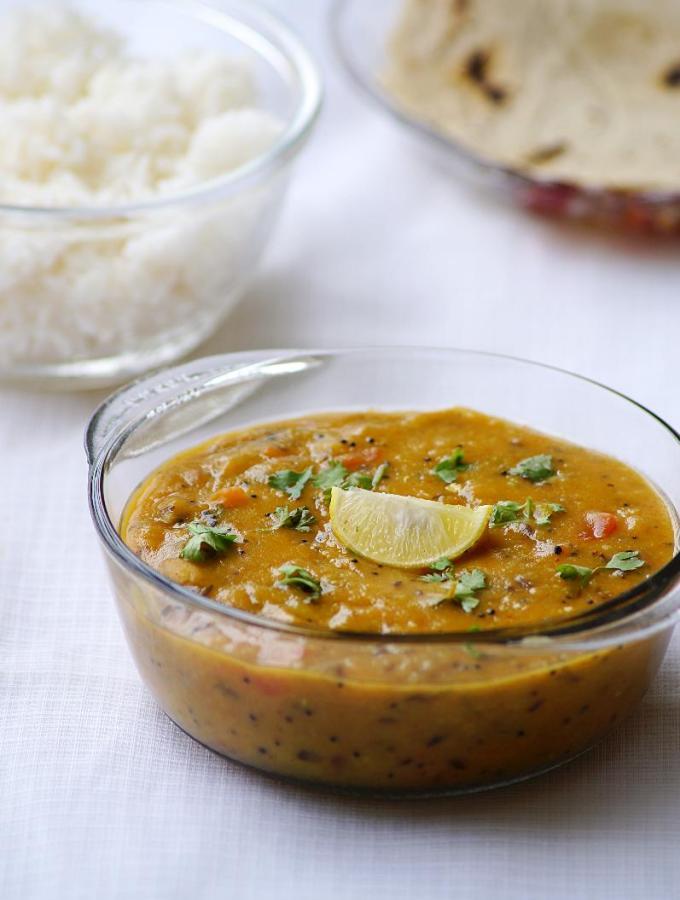 Gujarati Khatti Meethi Dal Recipe ~ Gujarati Recipes