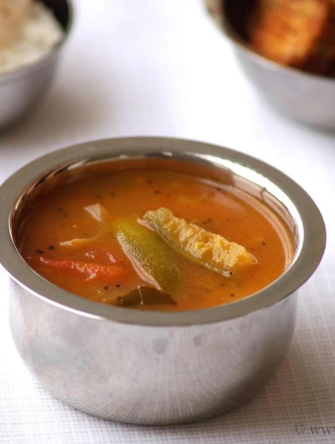 Dondakaya Pulusu Recipe – Andhra Style Ivy Gourd Stew Recipe