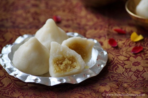 easy modak recipe, suji modak recipe, how to make easy modak, ganesh prasadam
