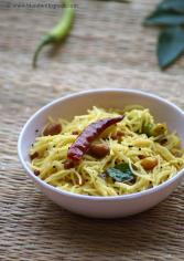 how to make vermicelli pulihora, semiya pulihora recipe, puli vermicelli recipe
