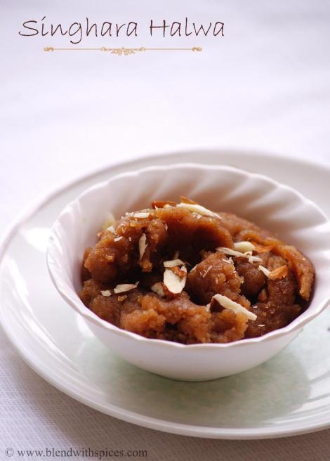 how to make singhara halwa, vrat ka halwa recipe, navratri vrat recipes