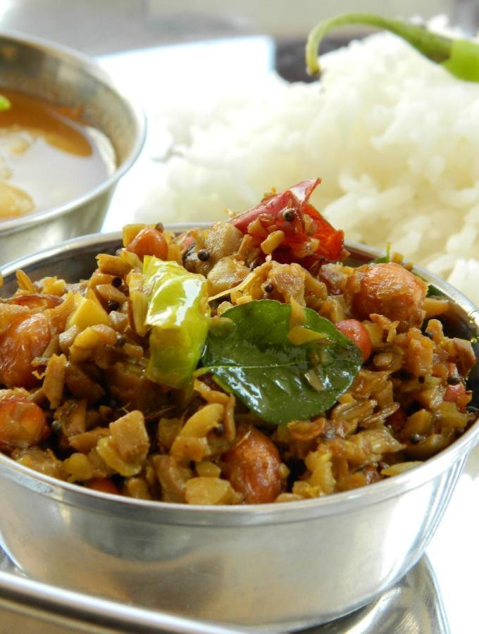 Andhra Panasa Pottu Koora ~ Jackfruit Husk Curry Recipe