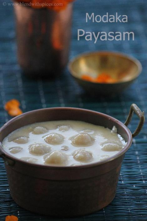 how to make modak kheer for ganapati bappa