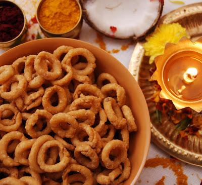 Kobbari Chegodilu | Diwali Savoury Snacks Recipes