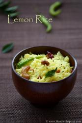 south indian lemon rice, pongal special recipes