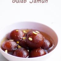 Chocolate Stuffed Gulab Jamun Recipe - How to make Chocolate Gulab Jamun with Instant Mix - Easy Indian Dessert Recipes