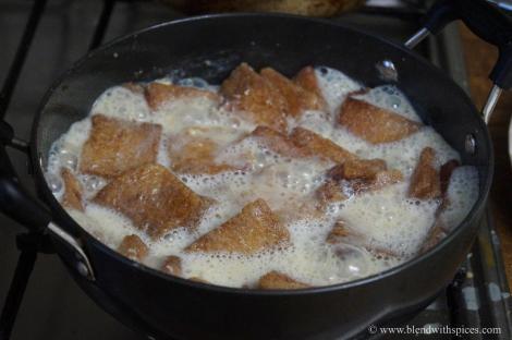 recipe for hyderabadi double ka meetha, indian dessert recipes, blendwithspices.com