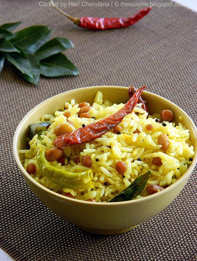 Chintapandu Pulihora – Andhra Style Tamarind Rice Recipe