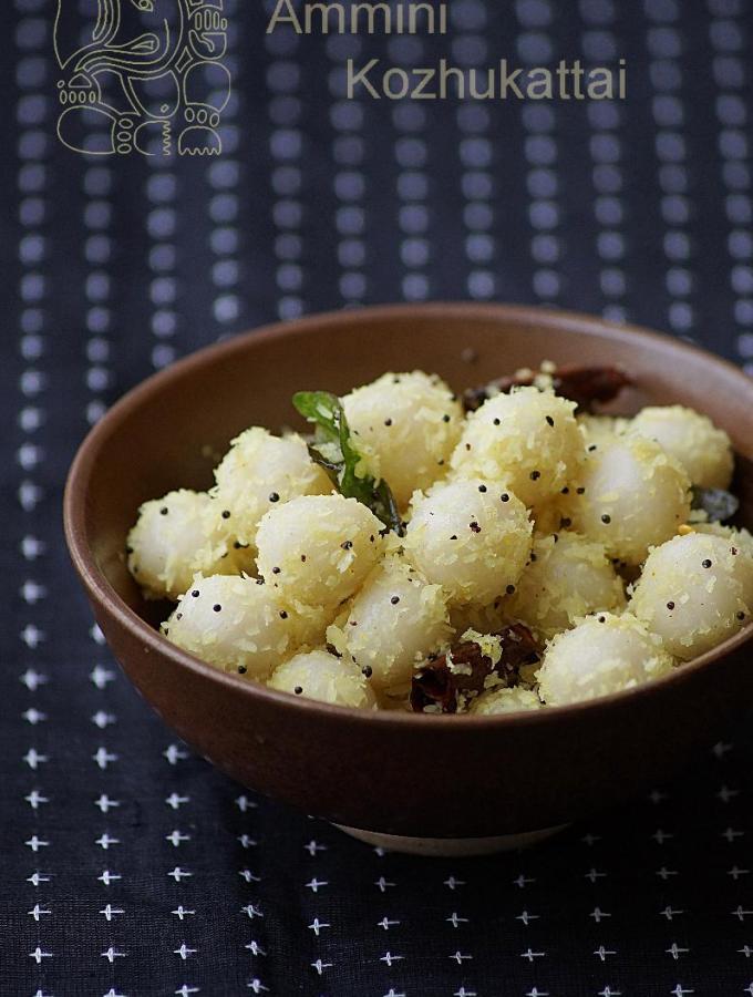 Ammini Kozhukattai Recipe ~ Ganesh Chaturthi Recipes ~ Vinayagar Chaturthi Naivedyam