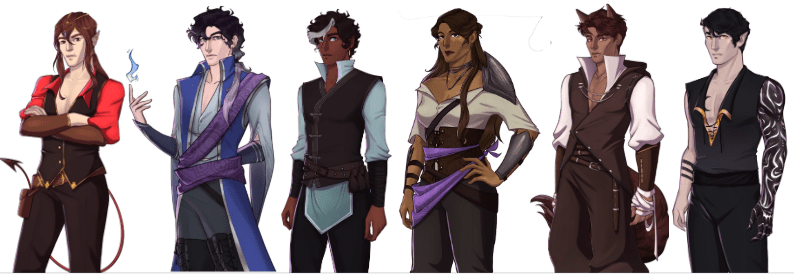 WTNC Characters