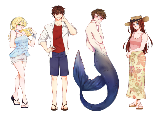Memories on the Shoreline - Characters.png