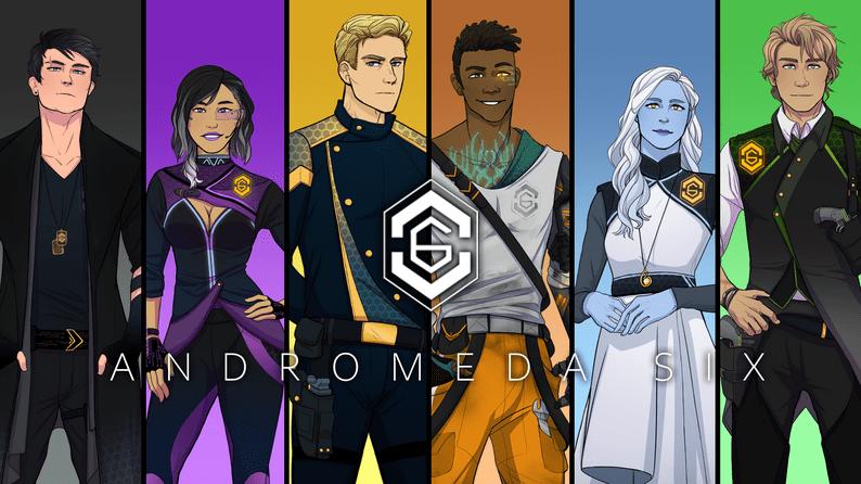 Andromeda Six Blerdy Otome