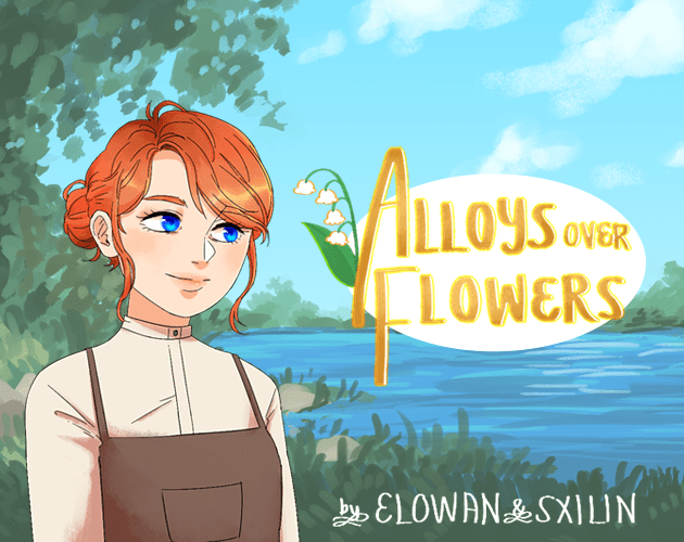 Alloys Over Flowers Thrifty Gaming Blerdy Otome