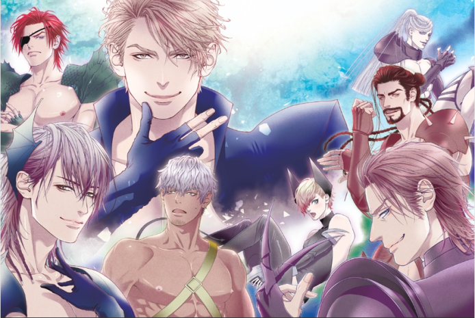 The Warriors of Dick Fight Island (Front L to R): Vampyr, Pisao, Taling, Judah, Lolo, Blanc (Back L to R): Sicolenaga and Hart