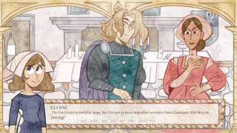 Maid of Chapelle Bleue Indie Game