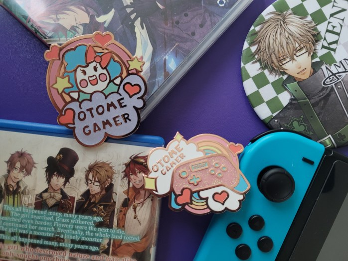Otome Gamer Pins