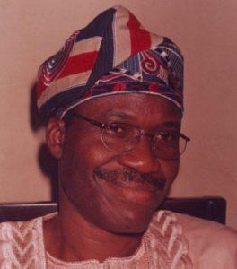 ADEYEMO, Sen. Peter Olawuyi