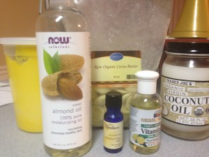 Homeade Cocoa Butter