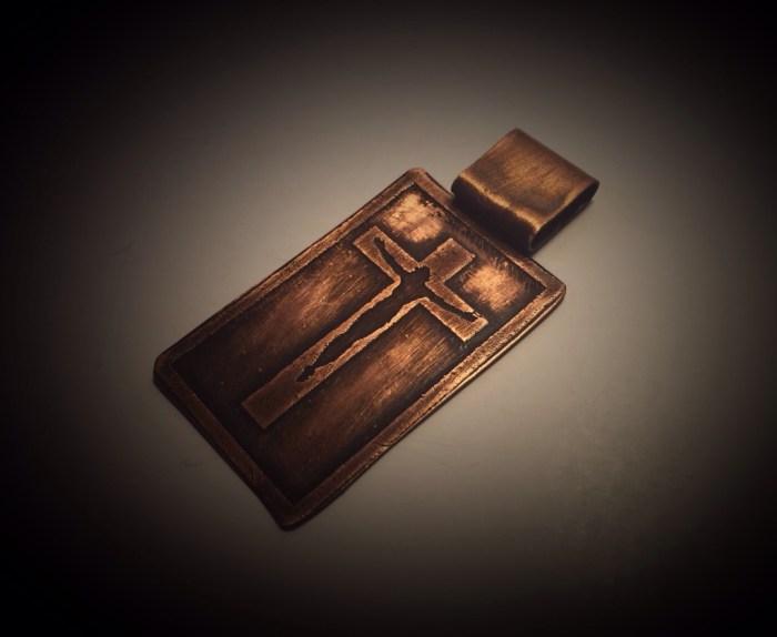Pendant- Cross With Jesus