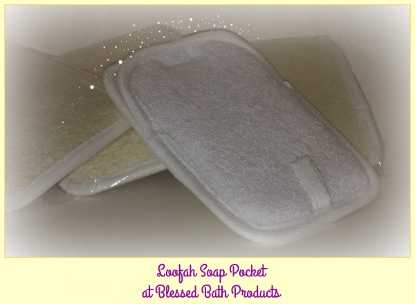 Loofah Soap Pocket