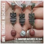Owl Treasure Necklaces