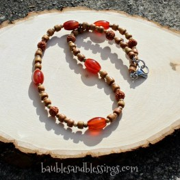 2017-04-30-Red-Agate-Sandalwood-Boxwood-Rudraksha-Necklace-1