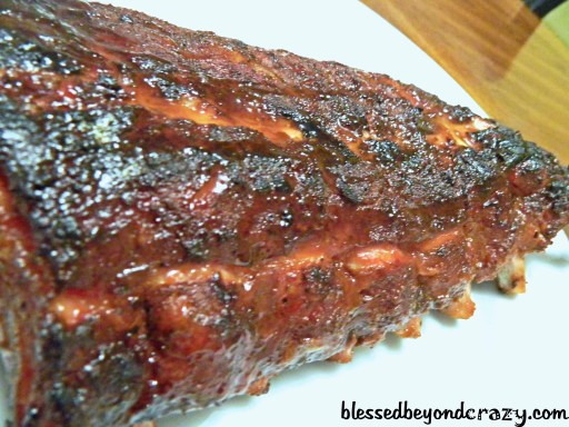 Smoke Honey BBQ Baby Back Ribs