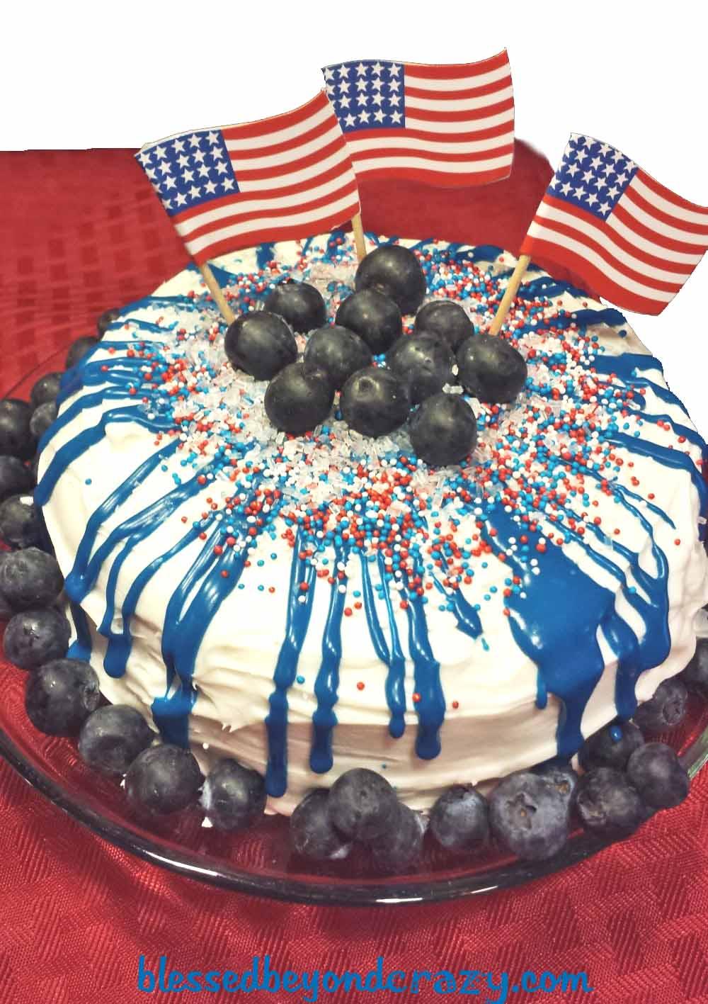 Amazing Birthday Cake Coloring