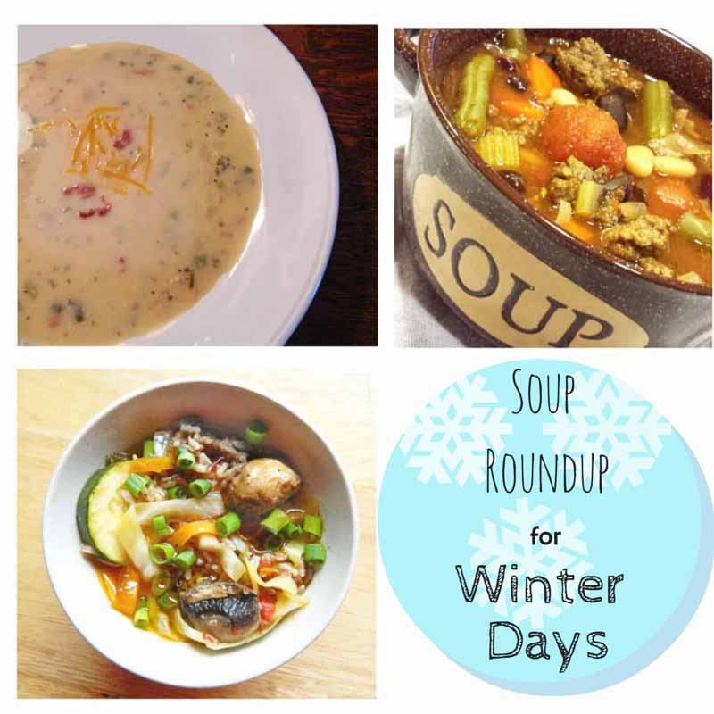 Soup Roundup For Winter Days