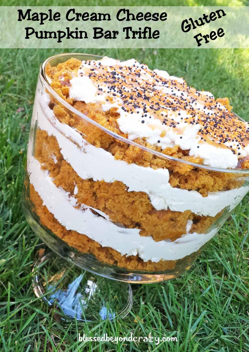 pumpkin trifle 2