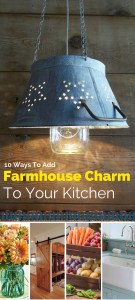 Farmhouse Charm to Kitchen