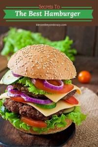 Secret To The Best Hamburgers 10