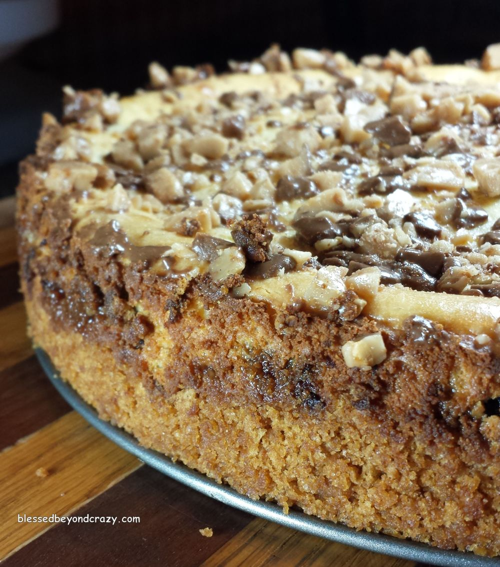 Heath Bits Cheesecake (GF Option) -