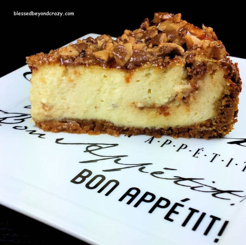Single Slice of Heath Bits Cheesecake (GF Option)