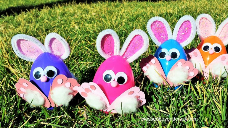 Easter Egg Bunnies 1
