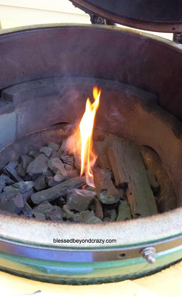Green Egg Flame
