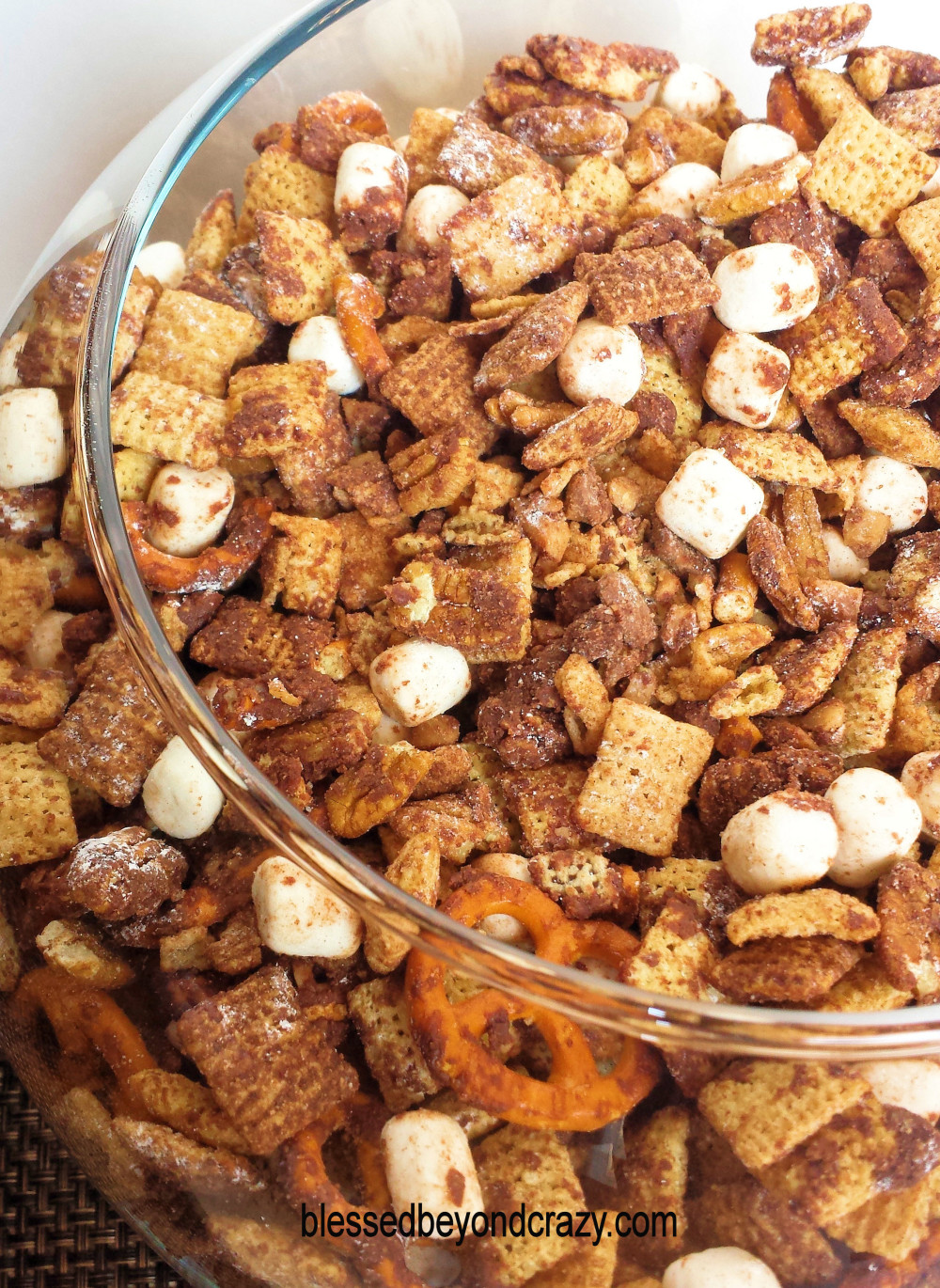 Chocolate Coffee Toffee Puppy Chow -