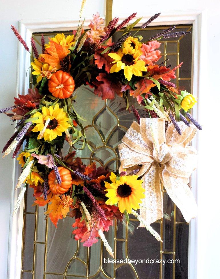 DIY Fall Wreath 13