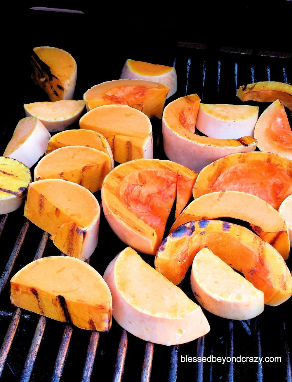 Grilled Butternut Squash