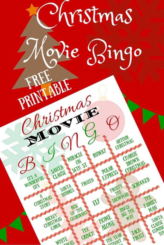 Christmas Movie Bingo