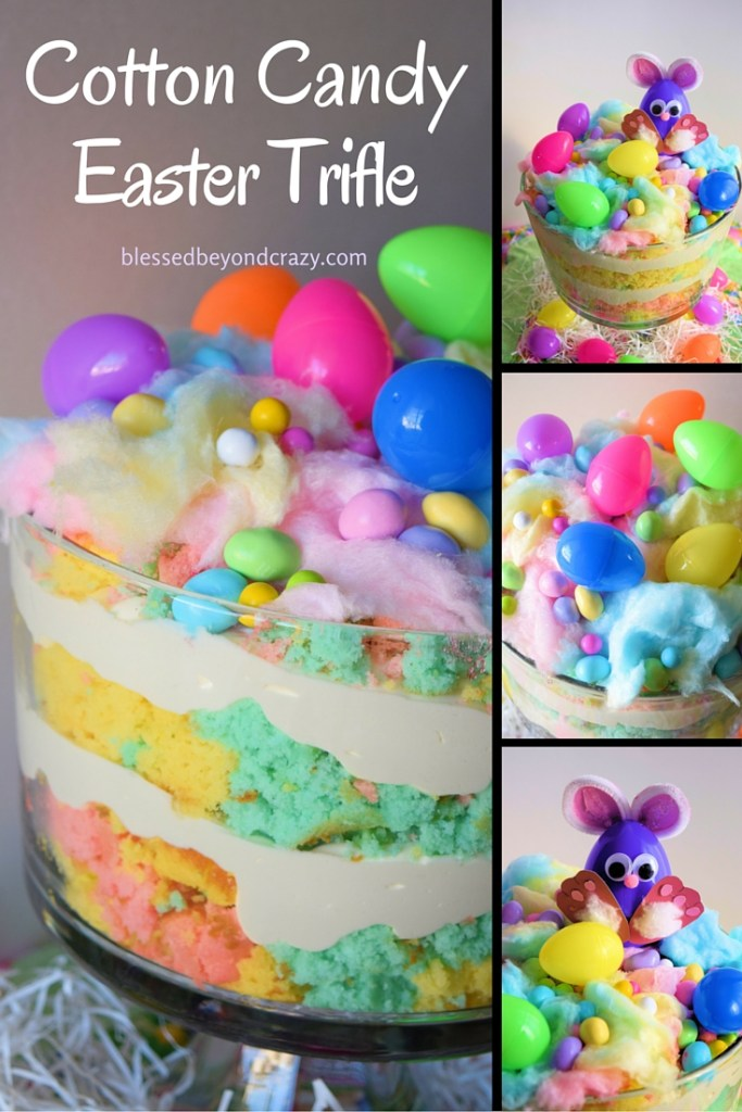 Cotton Candy Easter Trifle 1