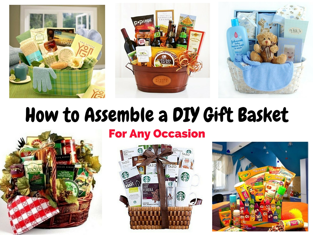 How to Assemble a DIY Gift Basket 2