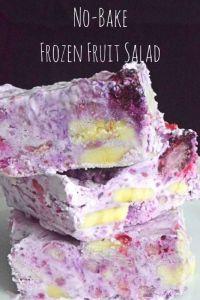 No-Bake Frozen Fruit Salad 2