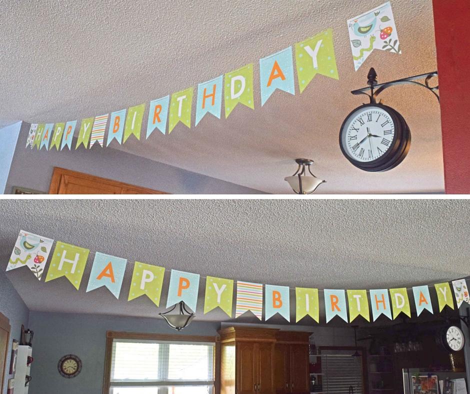 Minted Birthday Banner