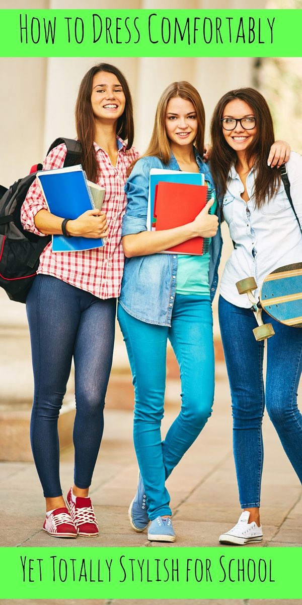 How to Dress Comfortable Yet Totally Stylish for School
