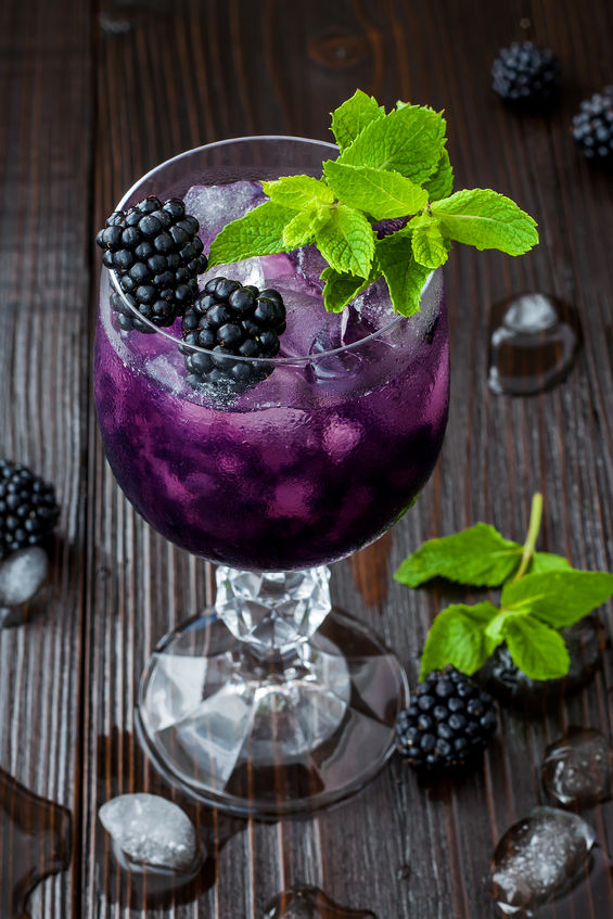 how to make a blackberry mojito