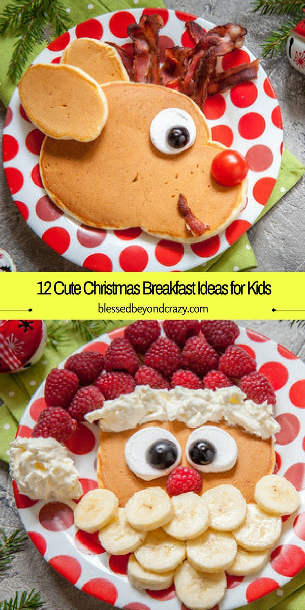 12 cute christmas breakfast ideas for kids. Black Bedroom Furniture Sets. Home Design Ideas