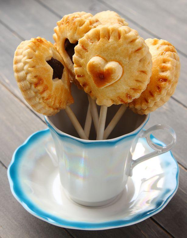 homemade shortbread cookies pops