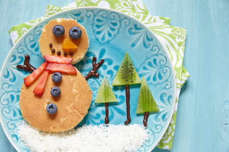 snowman christmas breakfast ideas for kids